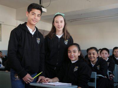 4. Educación básica con un alto nivel académico y sentido humanista